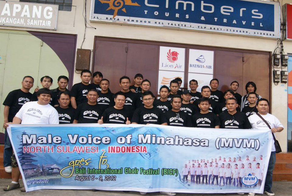MALE VOICE OF MINAHASA